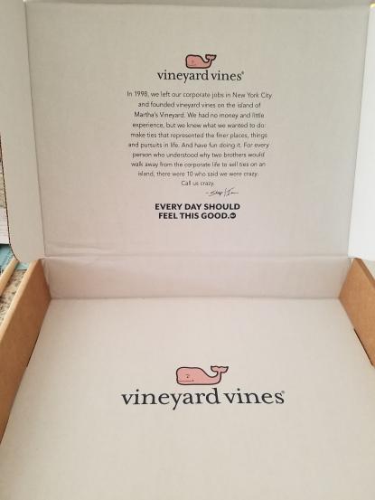 vineyard vines packaging story